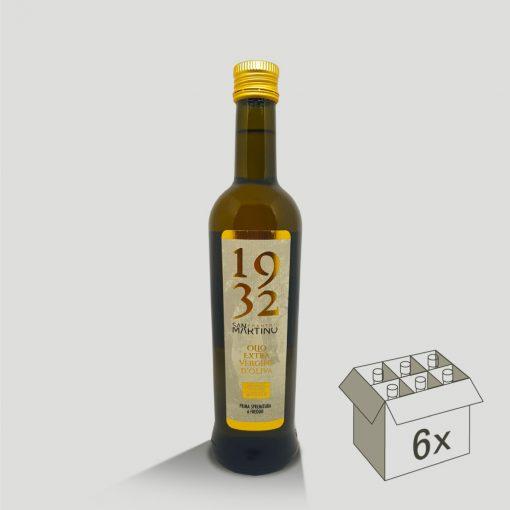 Bottiglia da 500ml di Olio Extravergine di Oliva Cultivar Taggiasca