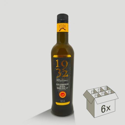Bottiglia da 500ml di Olio Extravergine di Oliva DOP