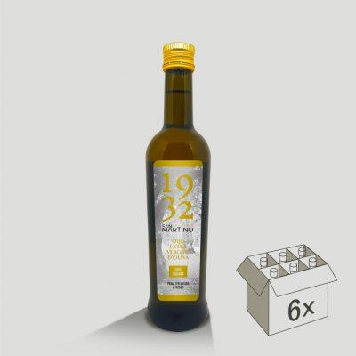 Bottiglia da 500ml di Olio Extravergine di Oliva 100% Italiano