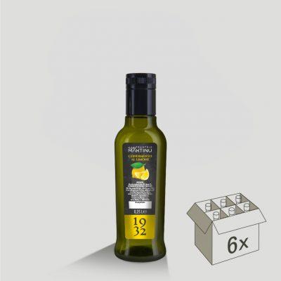Bottiglia da 250ml di Olio Extravergine di Oliva al Limone