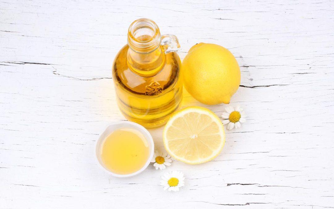 Olio di oliva e limone