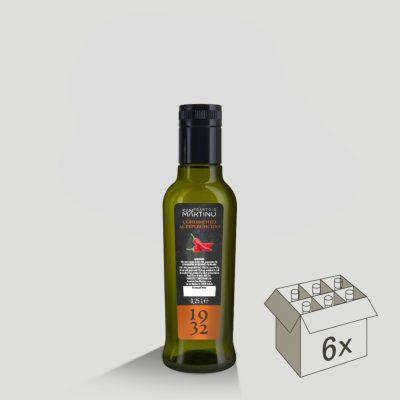 Bottiglia da 250ml di Olio Extravergine di Oliva al Peperoncino