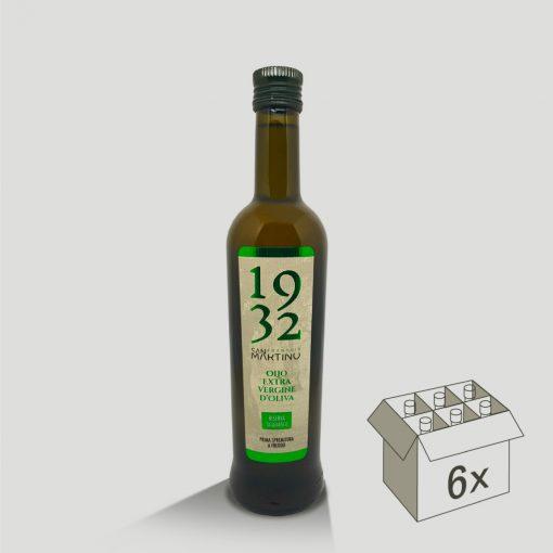 Bottiglia da 500ml di Olio Extravergine di Oliva Riserva Taggiasca