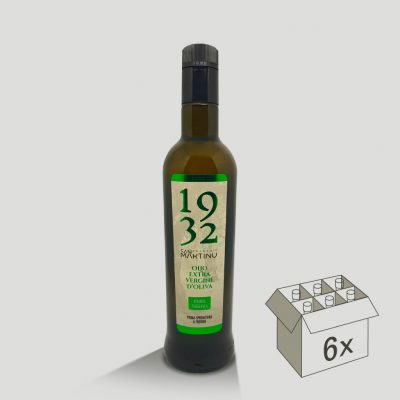 Bottiglia antirabbocco di Olio Extravergine di Oliva Riserva Taggiasca